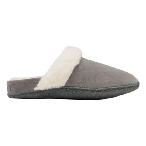 Sorel Women's Nakiska Slide II Slippers Quarry_053