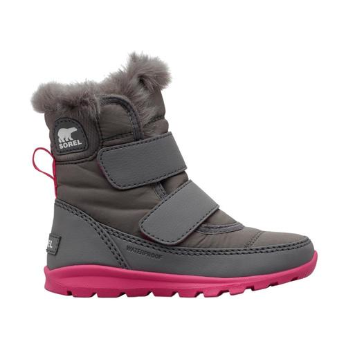 Sorel Little Kids Whitney Strap Boots Quarrypnk