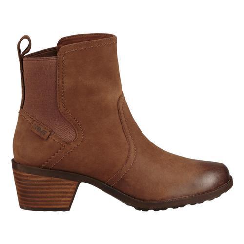 Teva Women's Anaya Chelsea Waterproof Boots Bison_bis