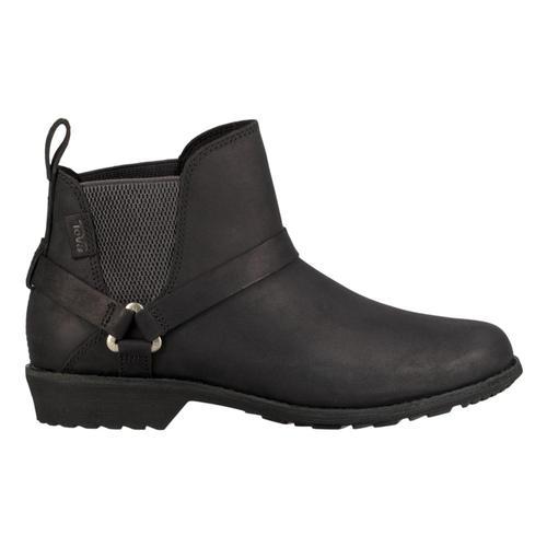 Teva Women's Ellery Chelsea FG Waterproof Boots Black_blk