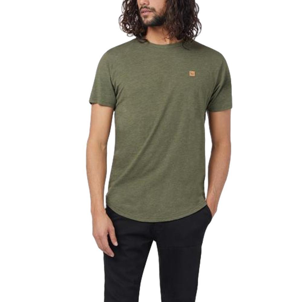 tentree Men's Standard Short Sleeve T Shirt MOSSGRN