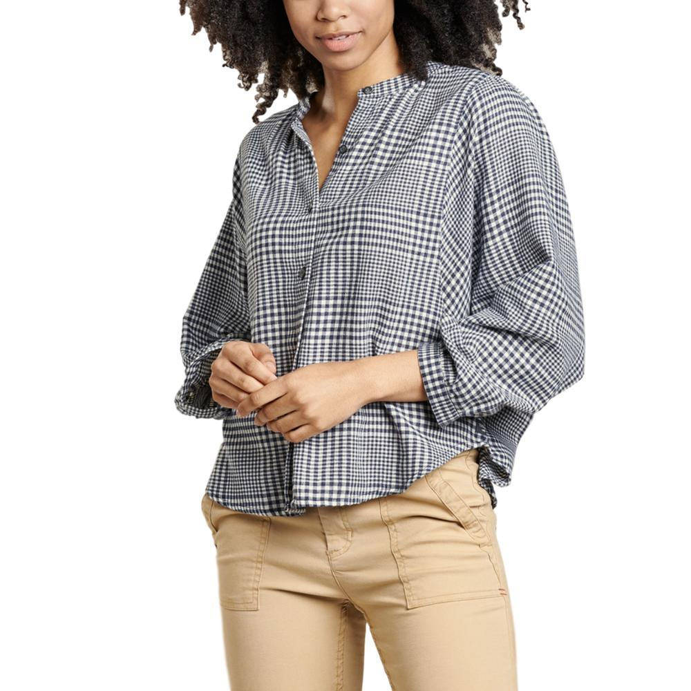 Toad&Co Women's Hartland Long Sleeve Shirt TRUENAVY_414