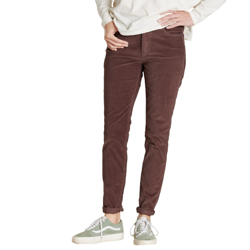 Toad&Co Cruiser Cord Skinny Pants RAISIN_506
