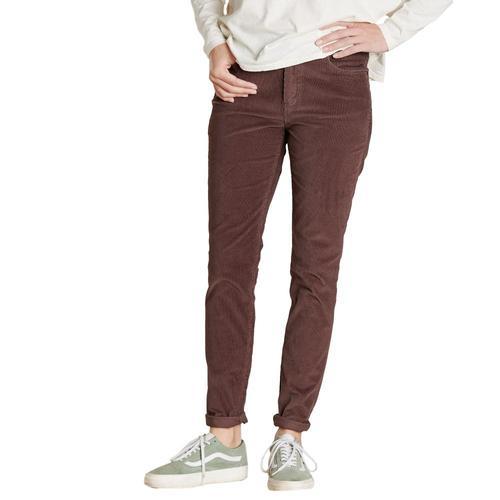 Toad&Co Cruiser Cord Skinny Pants Raisin_506