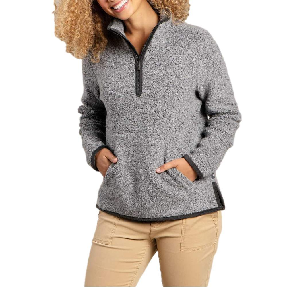 Toad&Co Women's Telluride Sherpa Pullover GREYHT_066