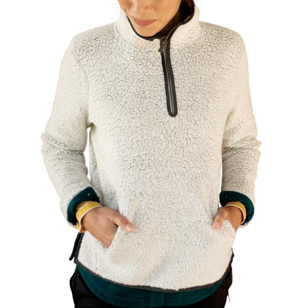 Toad&Co Women's Telluride Sherpa Pullover NATURAL_016