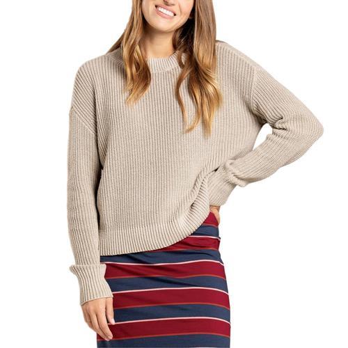 Toad&Co Women's Bianca Sweater Oatmeal_284