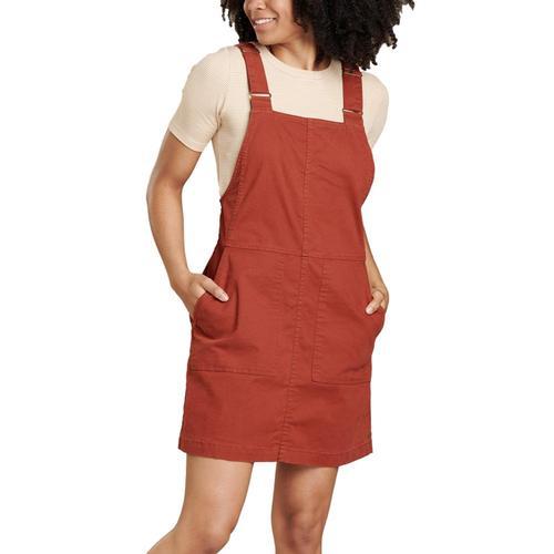 Toad&Co Women's Earthworks Jumper Dress Paprika_843