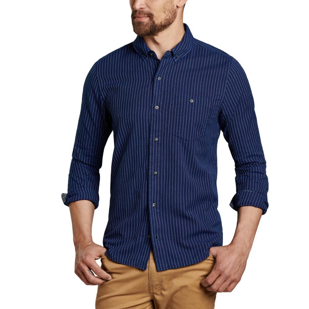 Toad&Co Men's Mattock II Long Sleeve Slim Shirt DKINDIGO494
