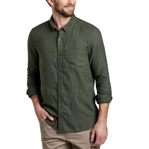 Toad&Co Men's Airsmyth Long Sleeve Shirt Beetle/365