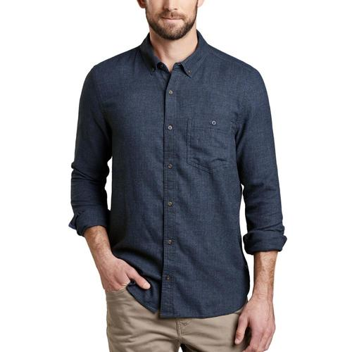 Toad&Co Men's Airsmyth Long Sleeve Shirt Truenvy/414