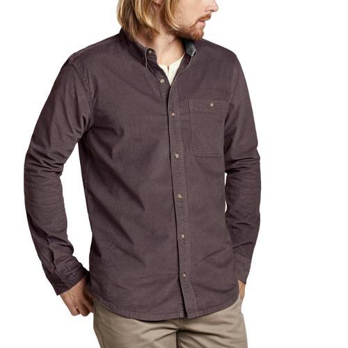 Toad&Co Men's Cruiser Cord Long Sleeve Shirt Raisin/506