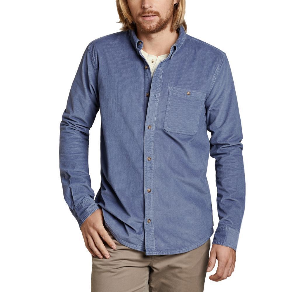 Toad&Co Men's Cruiser Cord Long Sleeve Shirt STONE088