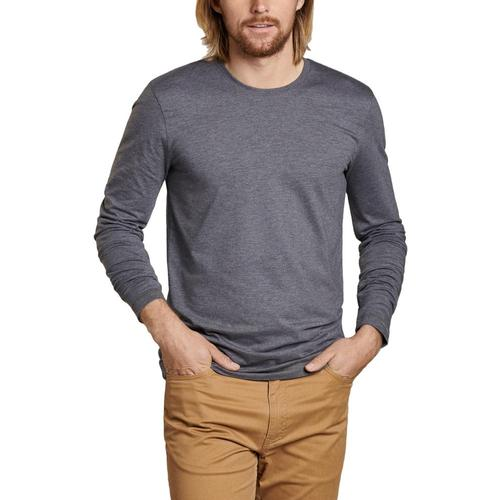 Toad&Co Men's Tempo Long Sleeve Crew Shirt Charcoal/110