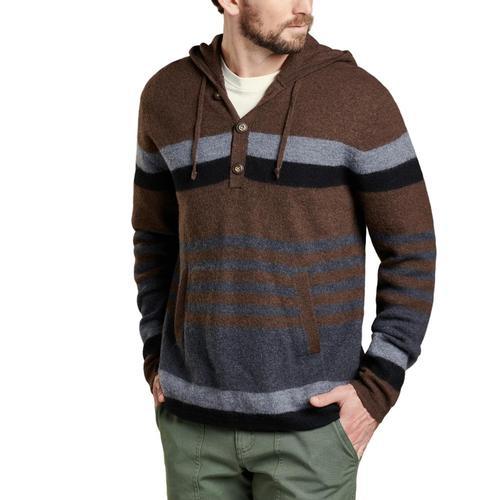 Toad&Co Men's Ziggy Hoodie Sweater Buffalo/241
