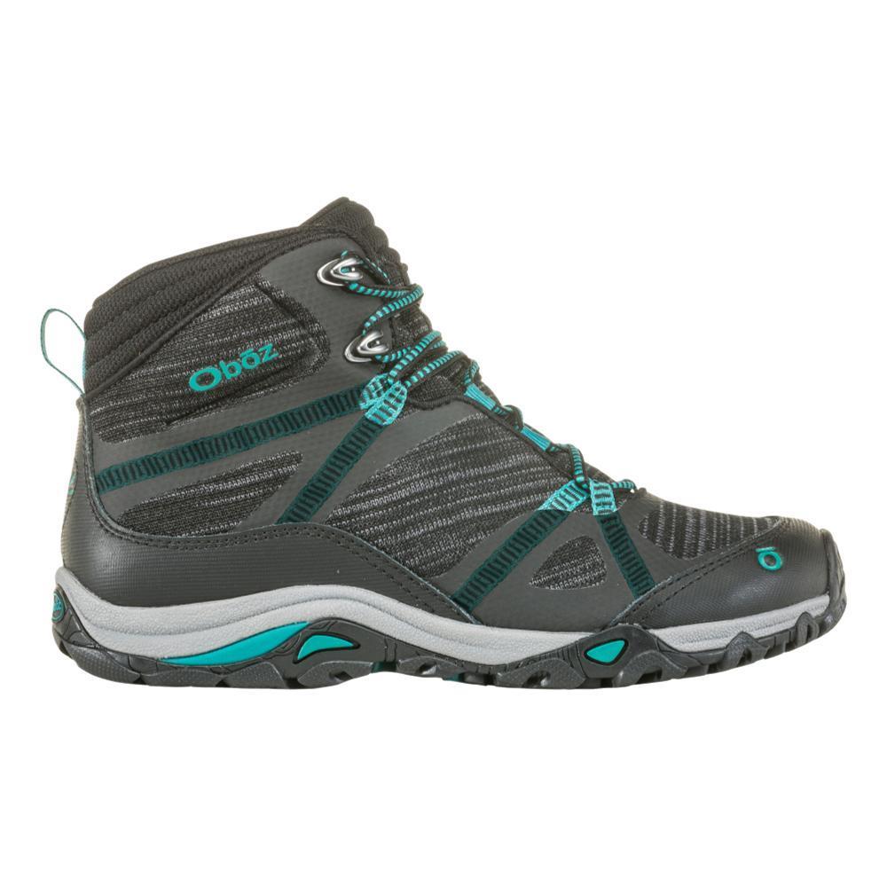 Oboz Women's Lynx Mid Waterproof Hiking Boots BLK.AQUA