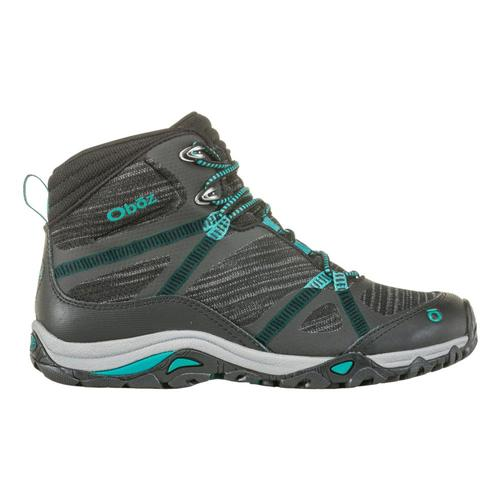 Oboz Women's Lynx Mid Waterproof Hiking Boots Blk.Aqua