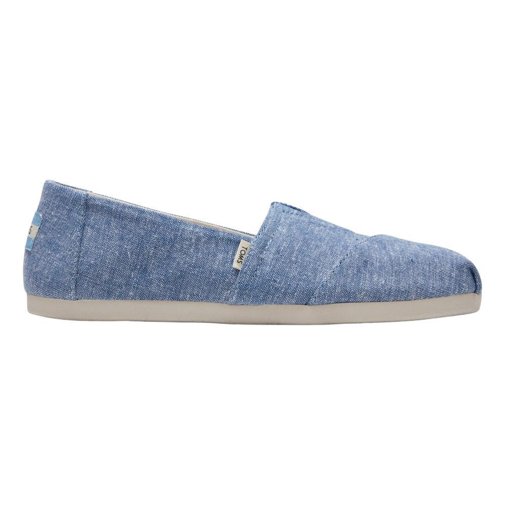 TOMS Women's Classic Ft Ortholite Shoes - Blue Slub Chambray BLU.SLB.CHBR