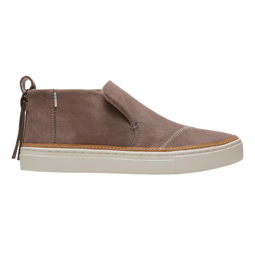 TOMS Women's Taupe Gray Suede Paxton Slip-Ons WRTAUPE