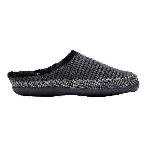 TOMS Women's Forged Iron Grey Sweater Knit Ivy Slippers Fgrey.Swtr