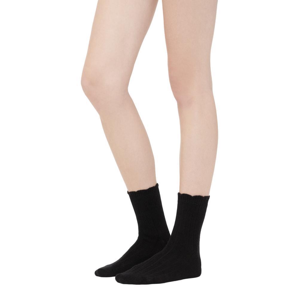 UGG Women's Nayomi Cashmere Socks BLACK_BLK