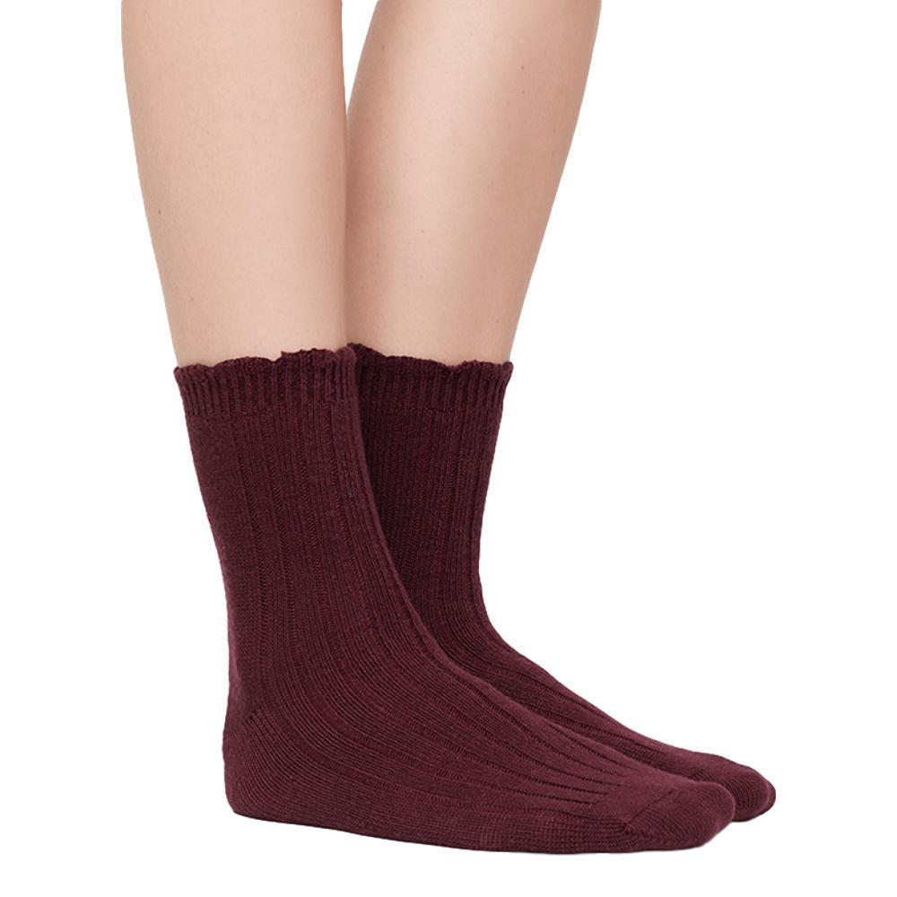 UGG Women's Nayomi Cashmere Socks PORT