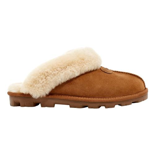 UGG Women's Coquette Clog Slippers Chestnt_che