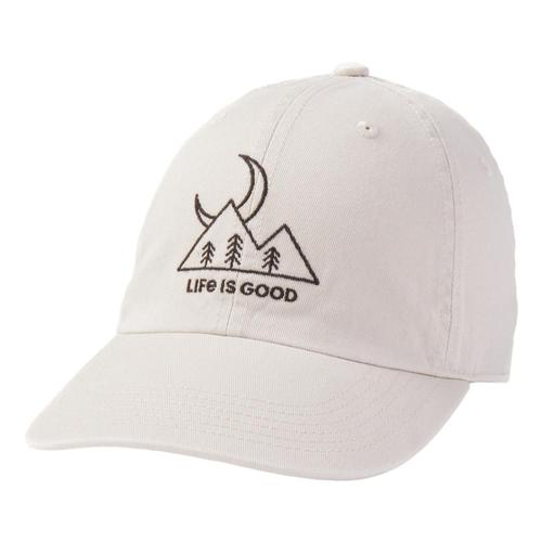Life is Good Moon Scenic Chill Cap Bone