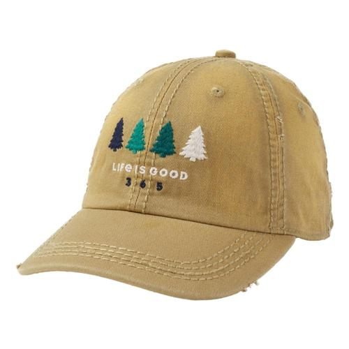 Life is Good 365 Trees Sunwashed Chill Cap Fatiggreen