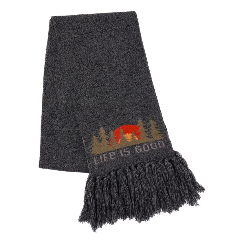 Life is Good Forest Scenic Reversible Scarf HEATHBLACK