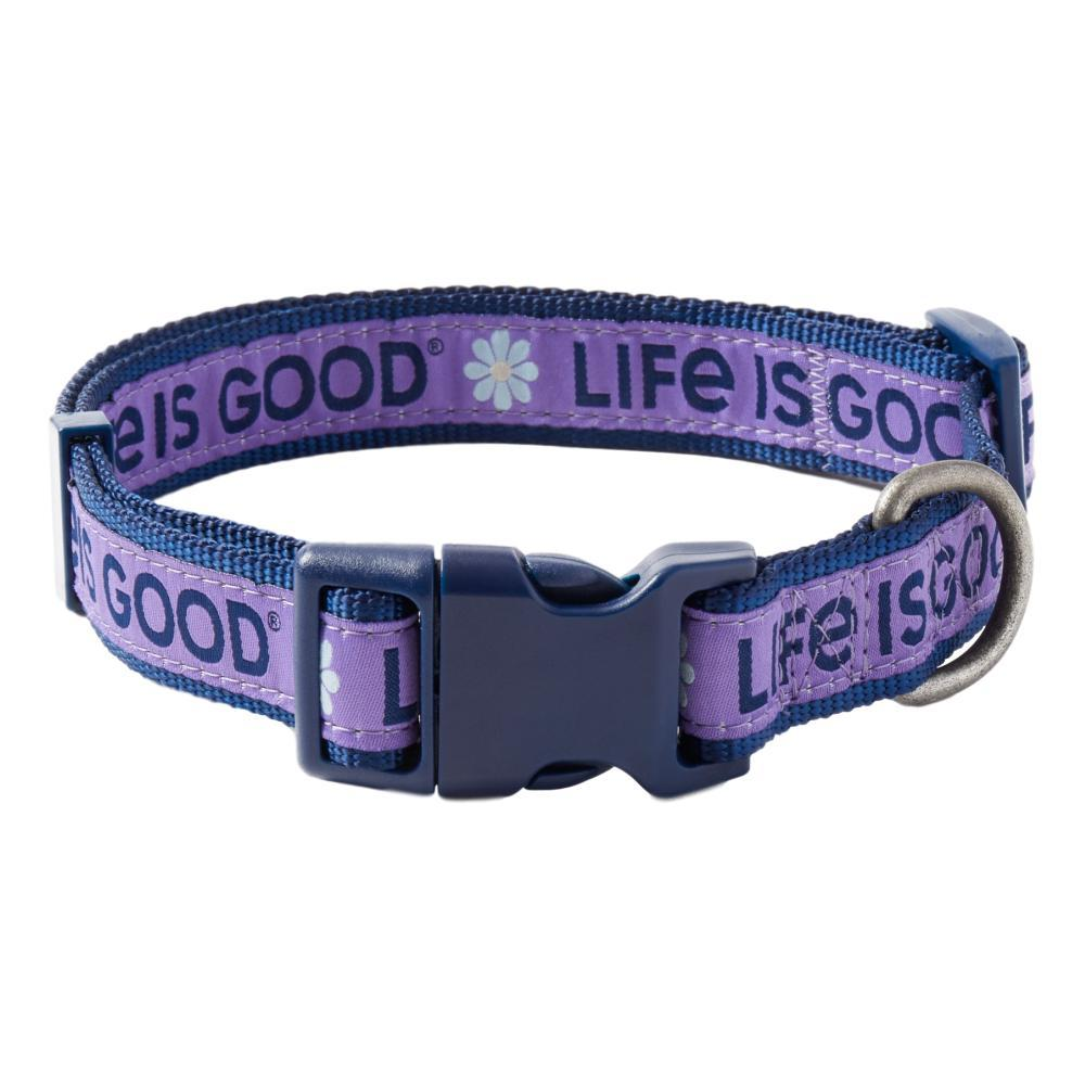 Life is Good Paw LIG Dog Collar MNSTN.PURPLE