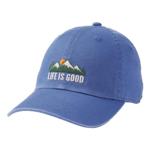 Life is Good Kids LIG Mountains Chill Cap Vntgblue