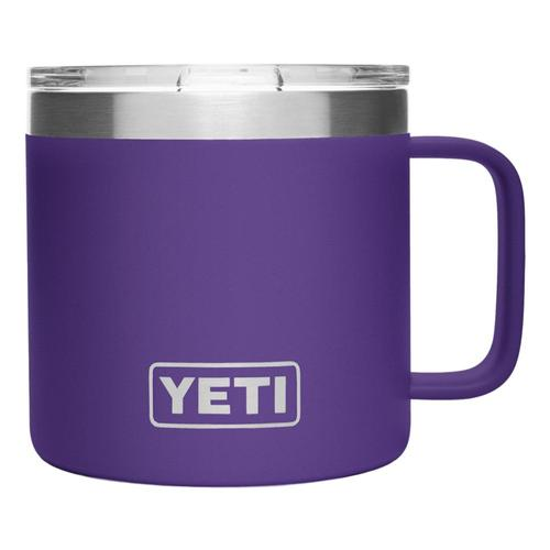 YETI Rambler 14oz Mug with Standard Lid Peak_purple