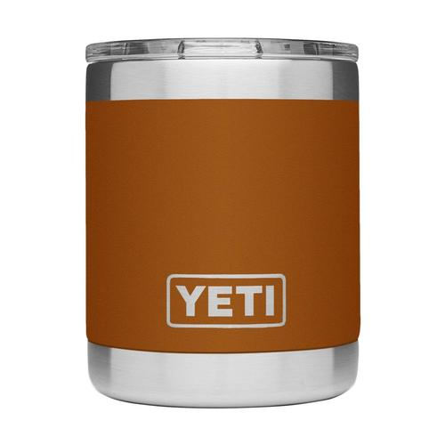 YETI Rambler 10oz Lowball Tumbler with Standard Lid Clay