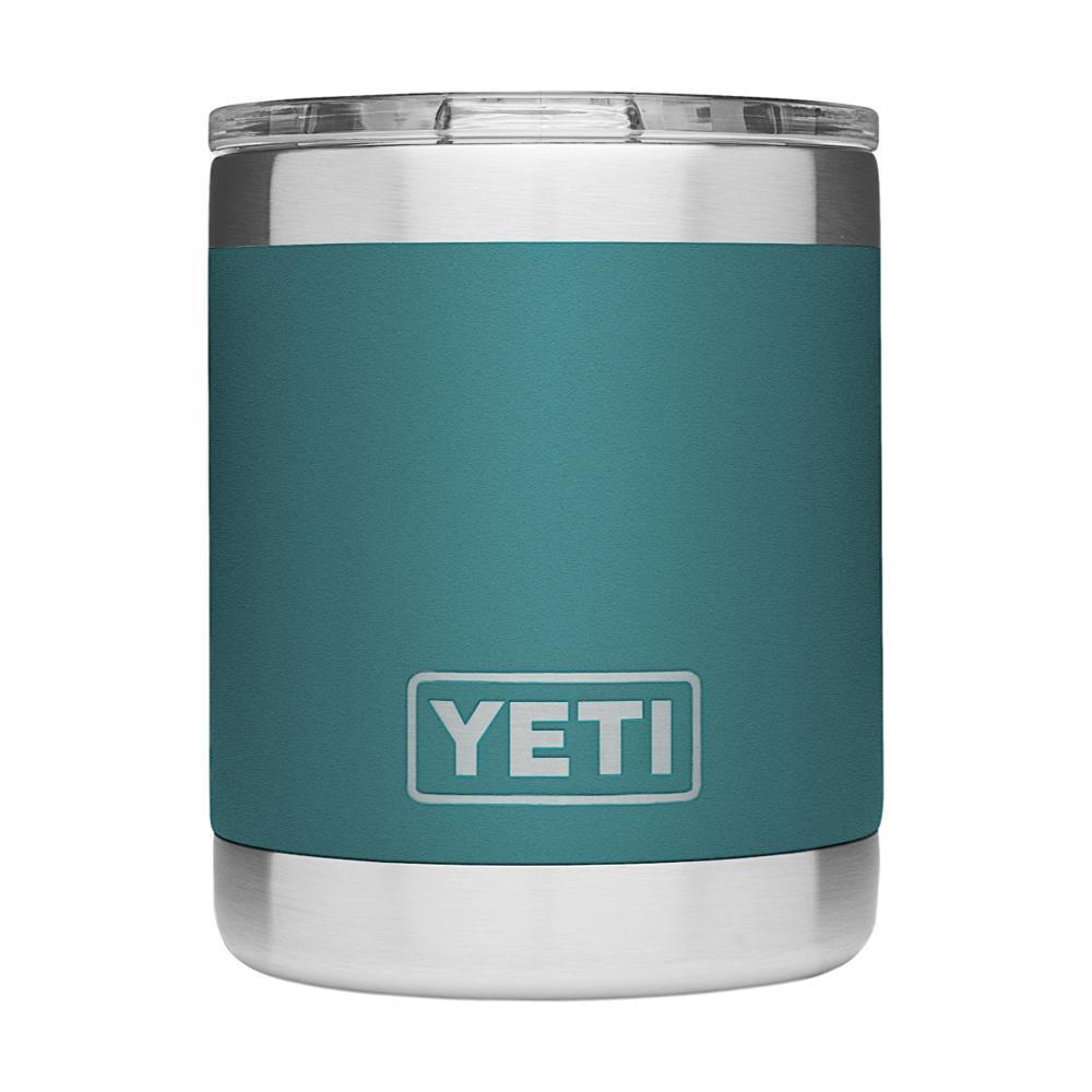 YETI Rambler 10oz Lowball Tumbler with Standard Lid RIVER_GREEN