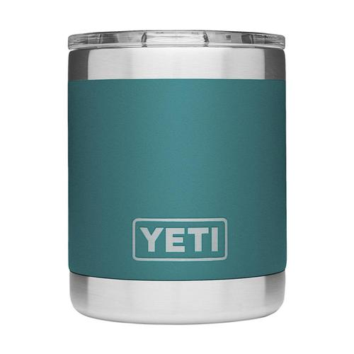 YETI Rambler 10oz Lowball Tumbler with Standard Lid River_green