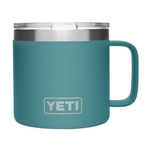 YETI Rambler 14oz Mug RIVER_GREEN