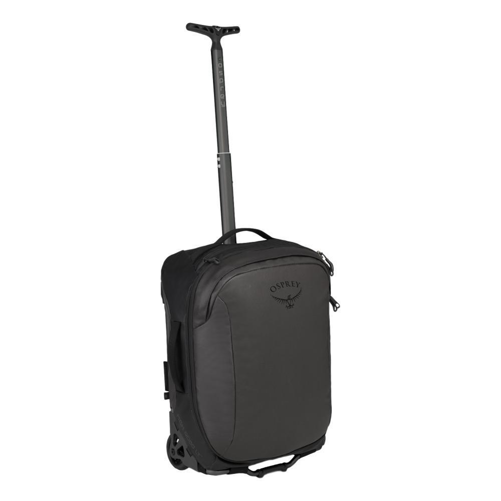 Osprey Transporter Wheeled Global Carry-On Bag BLACK