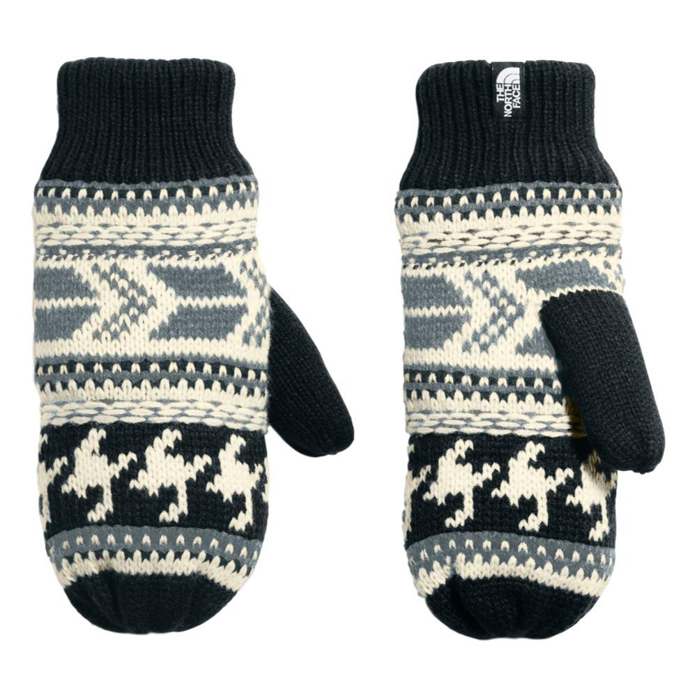 The North Face Women's Fair Isle Mitts BLKWHT_7VY