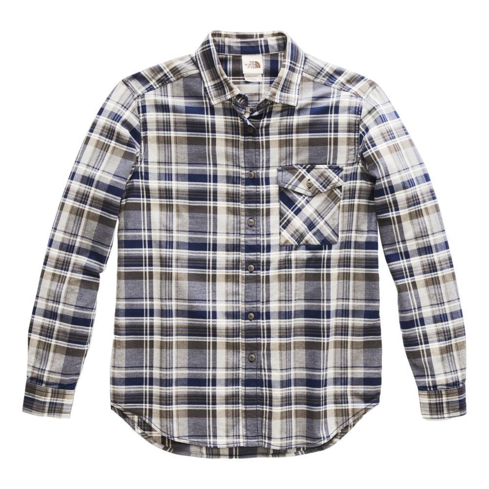 The North Face Women's Long-Sleeve Boyfriend Shirt LTGREY_HE0
