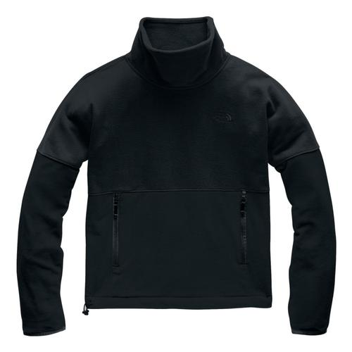 The North Face Women's TKA Glacier Funnel-Neck Pullover Black_kx7