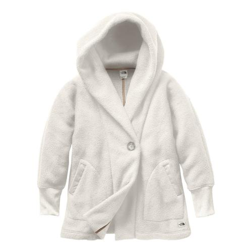 The North Face Women's Campshire Fleece Wrap White_11p