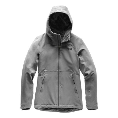 The North Face Women's Shelbe Raschel Hoodie Grey_dyy