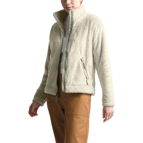 The North Face Women's Furry Fleece 2.0 Jacket White_es6