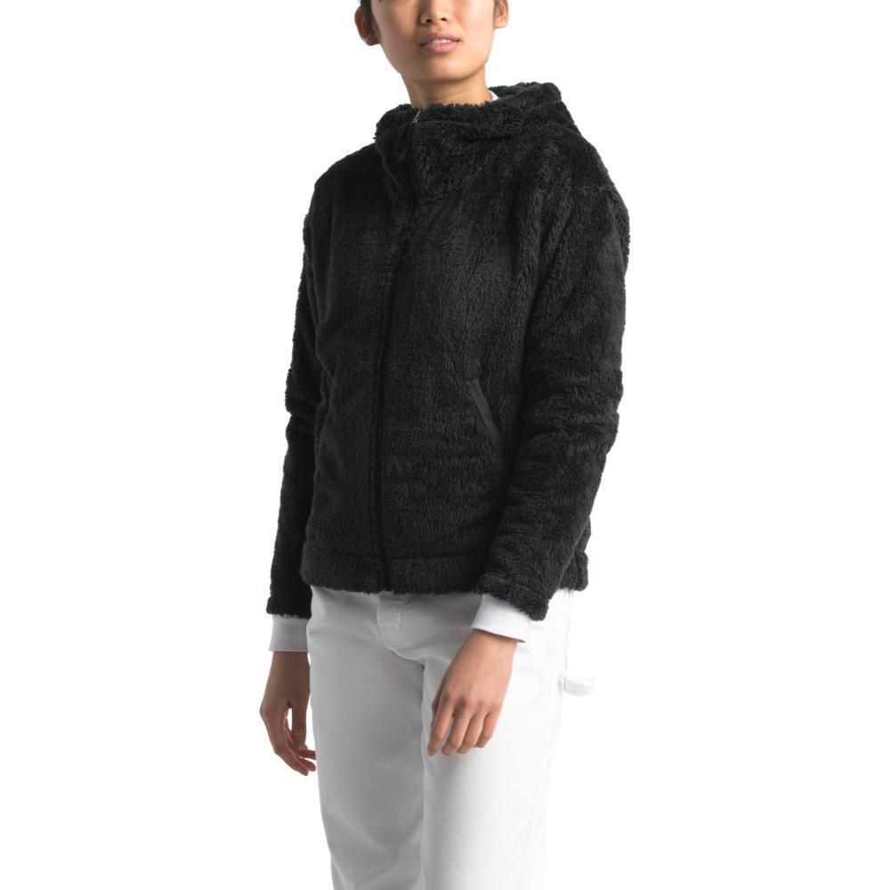 The North Face Women's Furry Fleece Hoodie BLACK_JK3