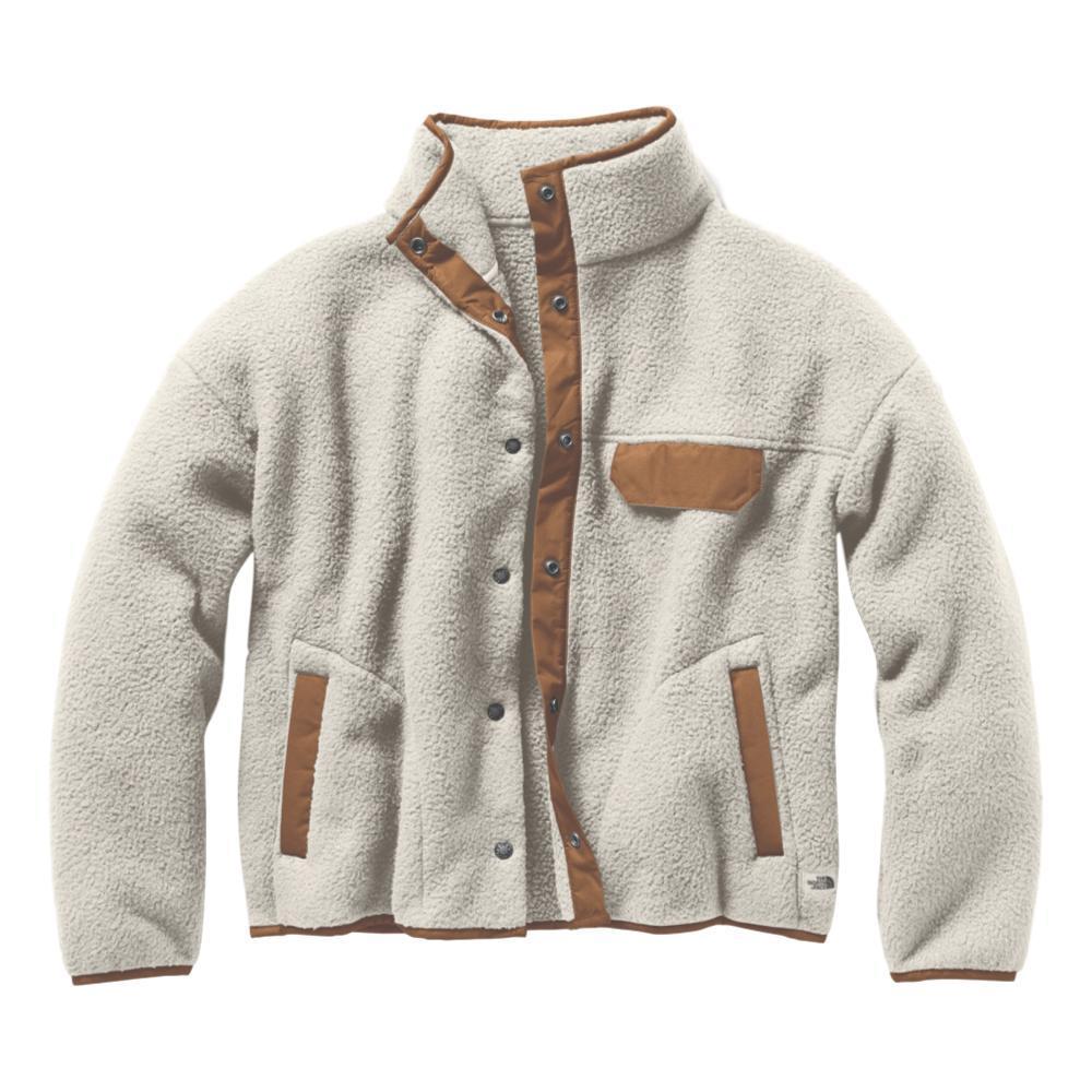 The North Face Women's Cragmont Fleece Jacket WHITE_G5C