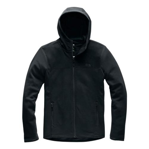The North Face Women's TKA Glacier Full-Zip Hoodie Black_kx7