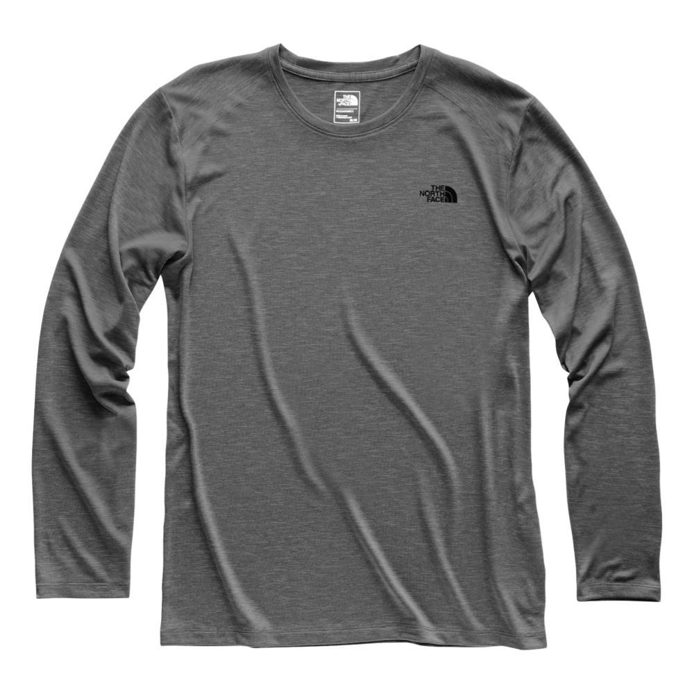 The North Face Men's HyperLayer FD Long Sleeve Crew DKGREY_DYZ