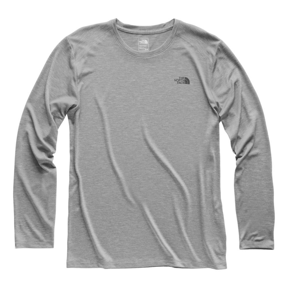 The North Face Men's HyperLayer FD Long Sleeve Crew LTGREY_DYX