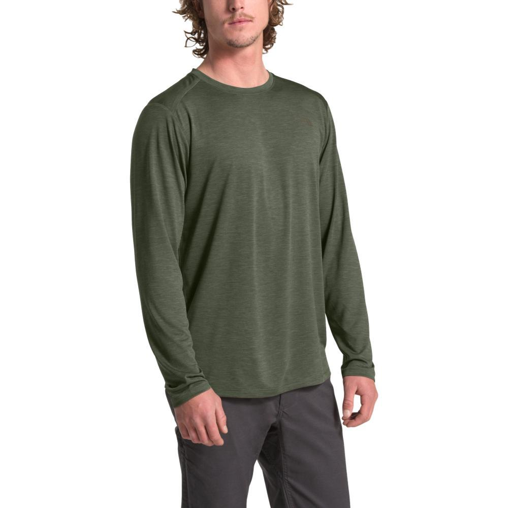 The North Face Men's HyperLayer FD Long Sleeve Crew TAUPEGRN_7D0